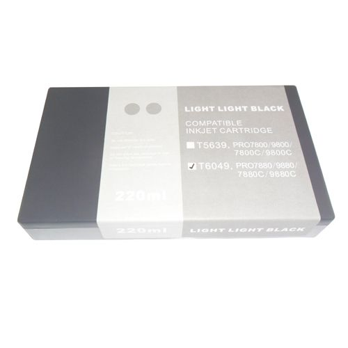 Epson Pro 7800/7880/9800/9880 Ink Catridge 220ml - Light Light-Black