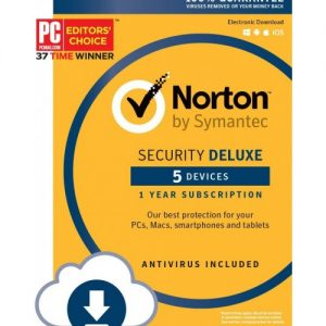Norton Internet Security + Antivirus Deluxe 5 Devices
