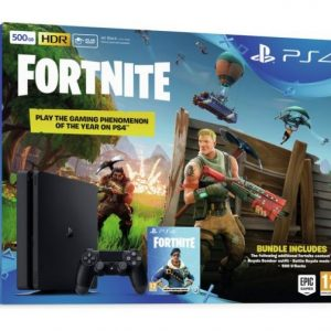 Sony Playstation 4 500GB + Fortnite