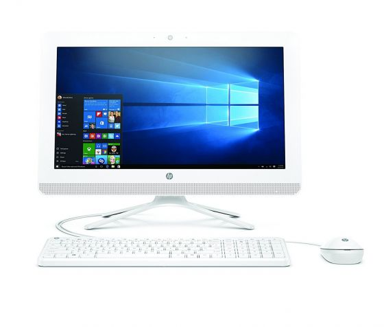 HP 20-c405d 19.5 Inch All-In-One Desktop Computer Intel Core i3-7130U 2.4GHz Processor 4GB RAM 1TB HDD Intel HD Graphics Window 10 Home - 3JU98AA