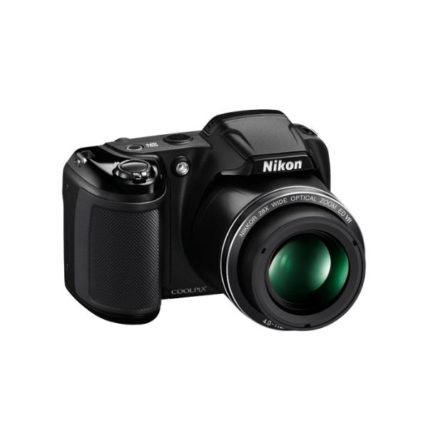Nikon Coolpix L340 Digital Camera - Black