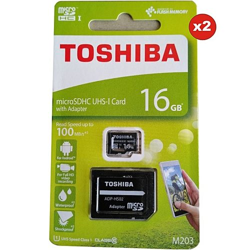 Toshiba 16gb Toshiba Memory Cad With Adapter