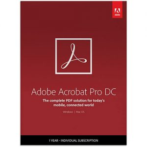 Adobe Acrobat Pro DC Upgrade Windows For Mac