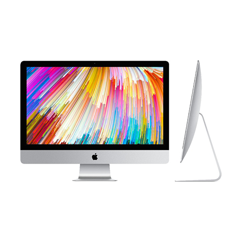 Apple iMac 27-Inch All-In-One Desktop Computer Intel Core i7 4.2GHz Processor 8GB RAM 3TB Fusion Drive AMD Radeon Pro Graphics Mac OS Z0TR0004Q
