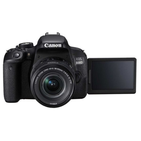 Canon EOS 800D Digital SLR Camera with 18-55 is STM Lens