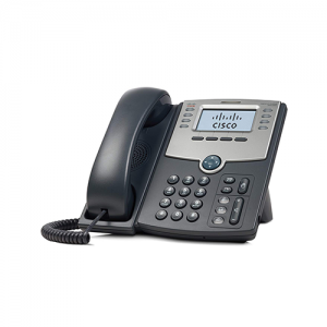 Cisco 8-Line IP Phone With 2-Port Switch PoE And LCD Display SPA508G