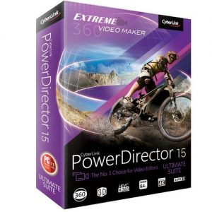 Cyberlink Power Director Ultimate Suite 15