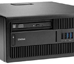 HP EliteDesk 705 G3 Small Form Factor Desktop Computer AMD A8-9600 3.1GHz Processor 16GB RAM 500GB HDD AMD Radeon Graphics Windows 10 Pro PF2LH