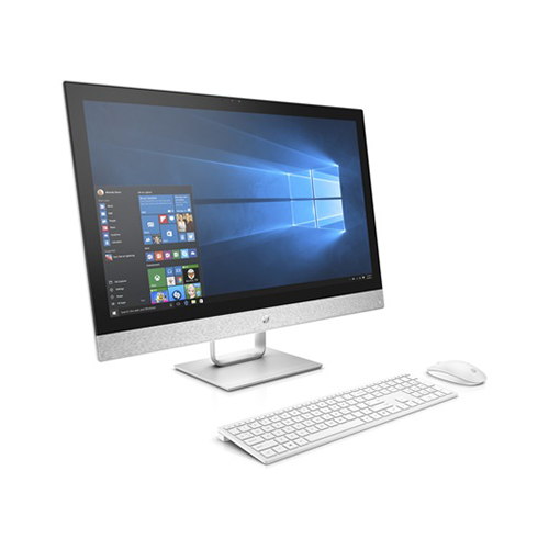 HP Pavilion 27-r119 27-Inch All-in-One Desktop Computer Intel Core i5+ 8400T 1.7GHz Processor 12GB RAM 16GB Intel Optane SSD + 1TB HDD Intel UHD Graphics Windows 10 Home 3LB56AA