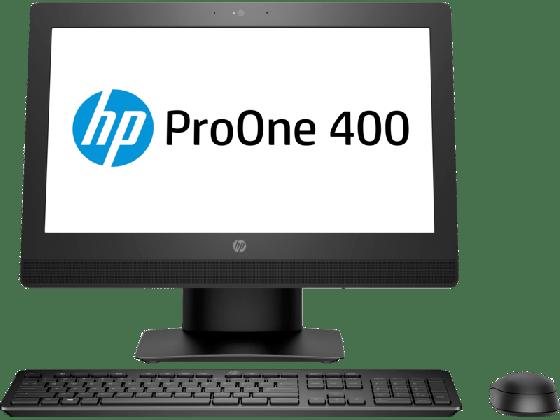 HP ProOne 400 G3 20-inch All-in-One Desktop Computer Intel core i5-6500T 2.5GHz processor 4GB RAM 500GB HDD Intel HD Graphics Windows 10 Pro PFDDH