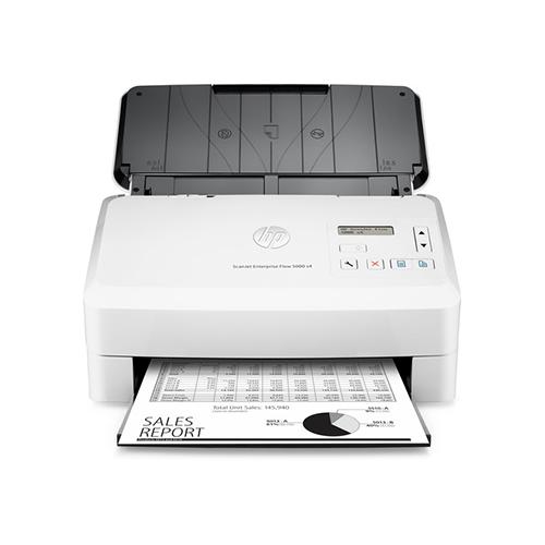 HP Scanjet Enterprise Flow 5000 S4 Sheet-Feed Scanner L2755A