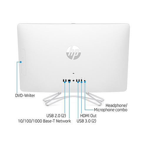 HP 24-e040 23.8-Inch All In One Desktop Computer Intel Core i3-7100U 2.4GHz Processor 8GB RAM 1TB HDD Intel HD Graphics Windows 10 Home Z5N99AA