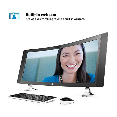 HP Envy 34-a010 34-Inch All-In-One Desktop Computer Intel Core i5-6400T 2.2GHz Processor 12GB RAM 1TB HDD NVIDIA GeForce Graphics Windows 10 Home M9Z77AA
