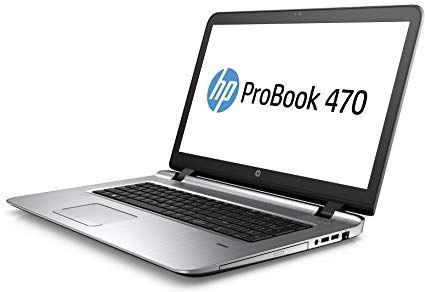 HP ProBook 470 G3 17.3-Inch NoteBook Laptop Intel Core I3-6100U 2.3GHz Processor 4GB RAM 1TB HDD AMD Radeon Graphics Windows 10 Pro