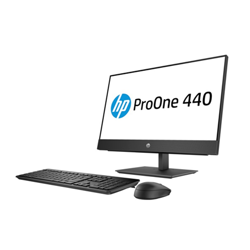 HP ProOne 440 G4 23.8-inch Non-Touch All-in-One Business Desktop Computer Intel Core i7-8700T 2.4GHz Processor 8GB RAM 1TB HDD Intel UHD Graphics FreeDOS - 4NU44EA