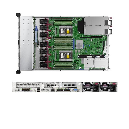 HPE ProLiant DL360 Gen10 Intel Xeon 4112 2.6GHz 4Core 85W 1P Processor 16GB RAM P408i-A 8SFF 1x500W Rack Mountable Server (874459-S01)
