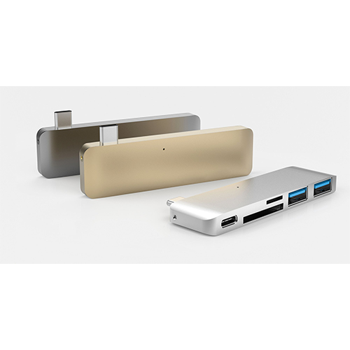 HyperDrive DUO Adapter USB-C 5-In-1 Hub For MacBook Pro