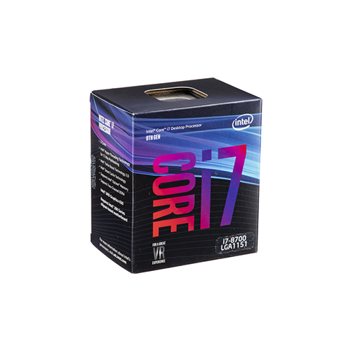 Intel Core I7-8700 Hexa-Core 8th Generation Processor BX80684I78700