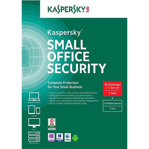 Kaspersky Small Office Security 10 Desktops