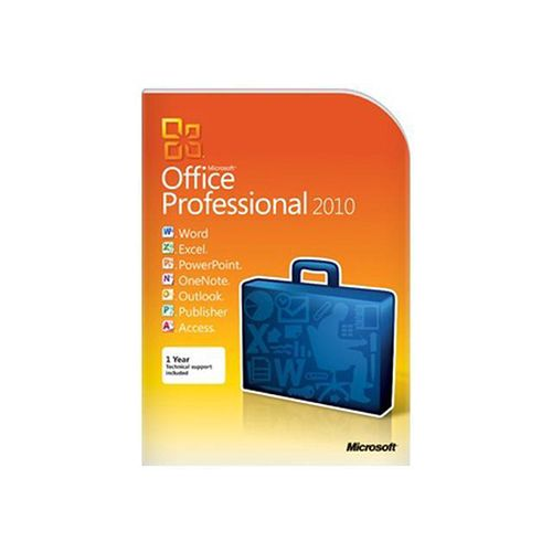 Microsoft Office Professional 2010 – 2 Personal Computer 1 User