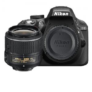 Nikon D3300 DSLR Camera With 18-55mm Lens – Black