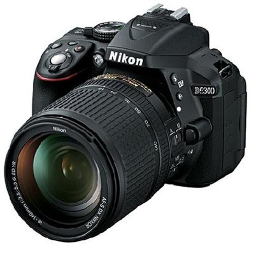 Nikon D5300 Camera Camera- Black With 18-55mm Zoom Lens