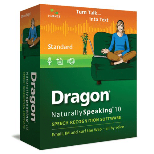 Nuance Dragon Naturally Speaking 10 Standard