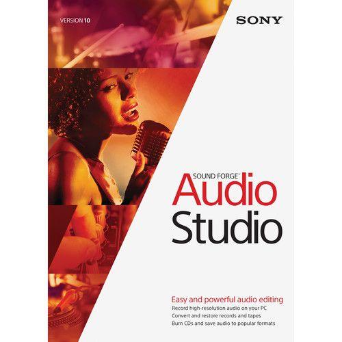 Sony Sound Forge Audio Studio Pro 10
