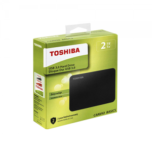 Toshiba 2TB Canvio Basics 2.5-Inch External Hard Drive Black