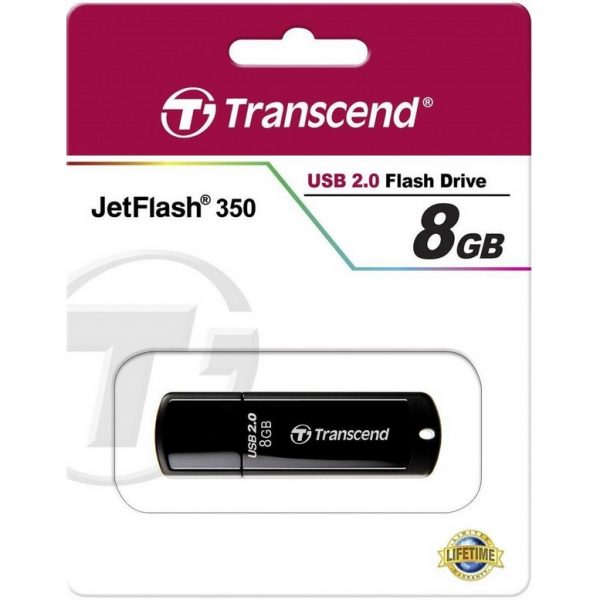 Transcend JetFlash 350 8GB USB 2.0