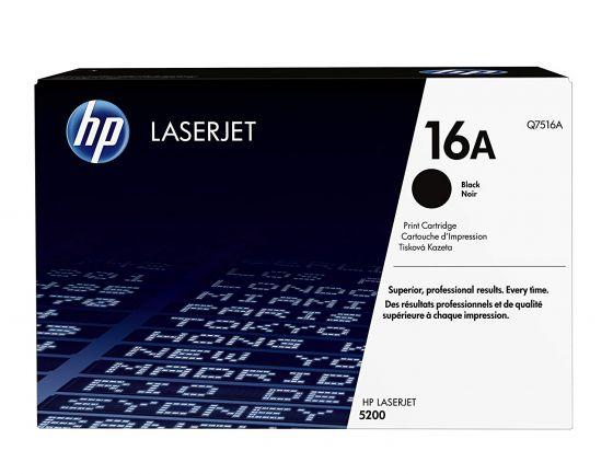 HP LaserJet 16A Original Black Toner Cartridge Q7516A