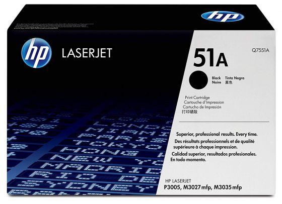 HP LaserJet 51A Original Black Toner Cartridge Q7551A