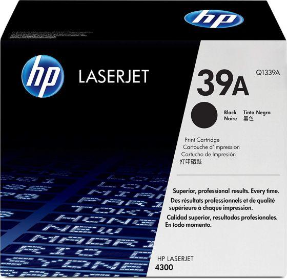 HP LaserJet 39A Original Black Toner Cartridge Q1339A