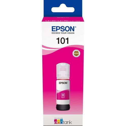 Genuine Epson EcoTank 101 70ml Magenta Ink Bottle