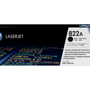 HP Original LaserJet 822A Black Toner Cartridge C8550A