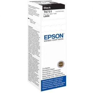 Genuine Epson T6731 Black 70ml Ink Bottle