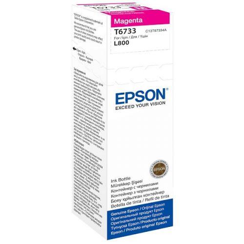 Genuine Epson T6733 Magenta 70ml Ink Bottle