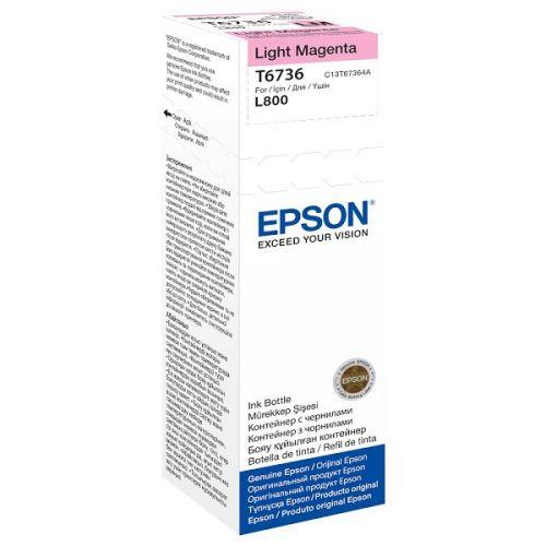 Genuine Epson T6736 Light Magenta 70ml Ink Bottle