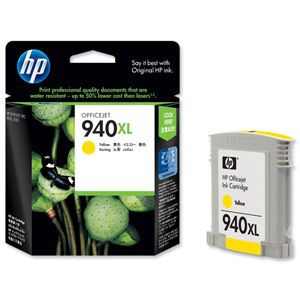 HP Original High Yellow Ink Cartridge C4909A