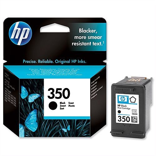HP 350 Black Ink Cartridge CB335EE