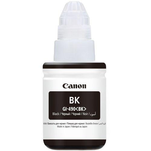 Genuine Canon GI-490 Black 135ml Ink Bottle