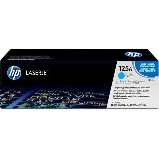 HP LaserJet 125A Cyan Toner Cartridge CB541A