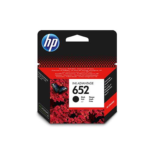 HP 652 Black Original Ink Advantage Cartridge F6V25AE