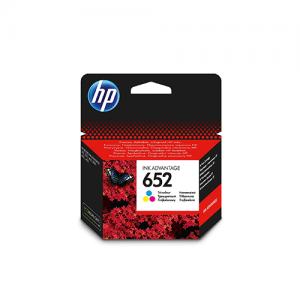 HP 652 Tri-Color Ink Advantage Cartridge F6V24AE