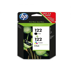 HP 122 Black/Tri-Color Ink Cartridge CR340HE