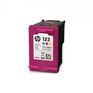 HP 123 Tri-Color Original Ink Cartridge F6V16AE