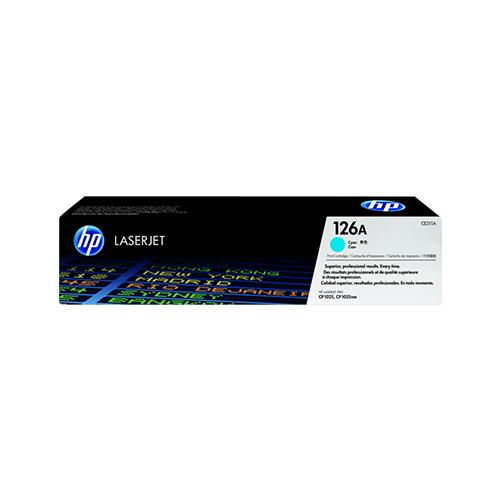 HP 126A Cyan LaserJet Toner Cartridge CE311A