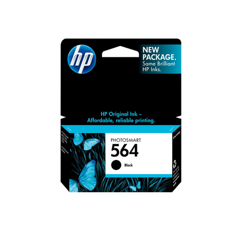 HP 564 Black Ink Cartridge CN684WN