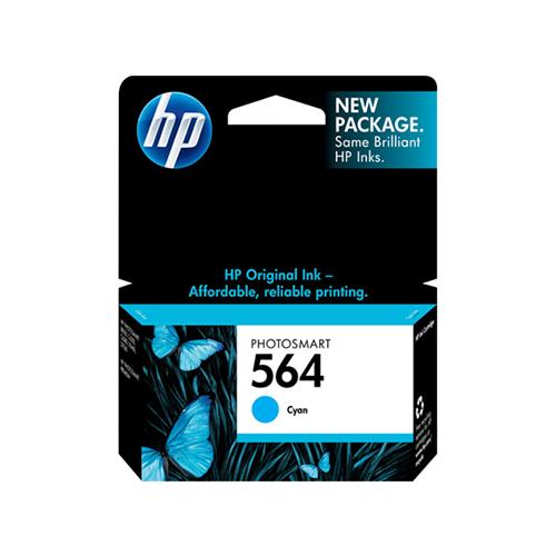 HP 564 Cyan Ink Cartridge CB318WN
