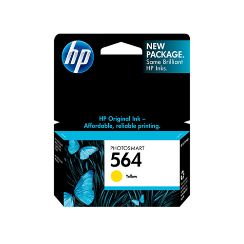 HP 564 Yellow Ink Cartridge CB320WN